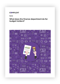 Guide_What does the finance department do for budget holders