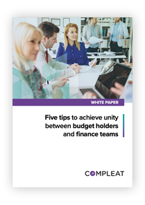 Whitepaper_Five tips to achieve unity between budget holders and finance teams